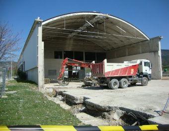 Inicio Obras en CTRU Mancomunidad Comarca Pamplona