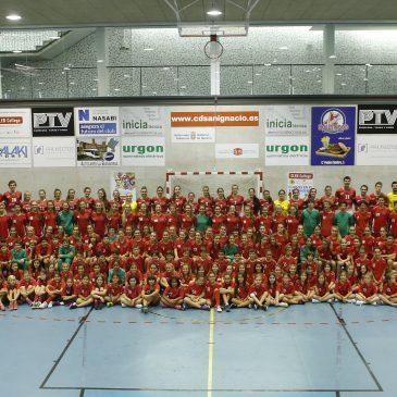 PROYECTOS NAVARRA renueva patrocinio con la Sección de Balonmano del Club Deportivo San Ignacio